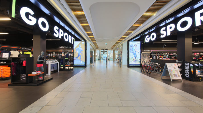 New Go Sport concept store opened in Warsaw.