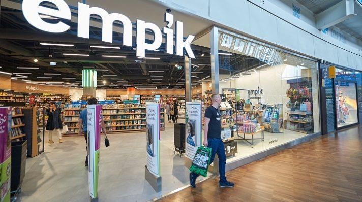 Deux kilomètres de culture - le nouveau Future Store Empik.