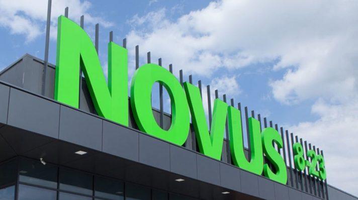 Boksy kasowe MAGO w sklepie sieci Novus w Kijowie