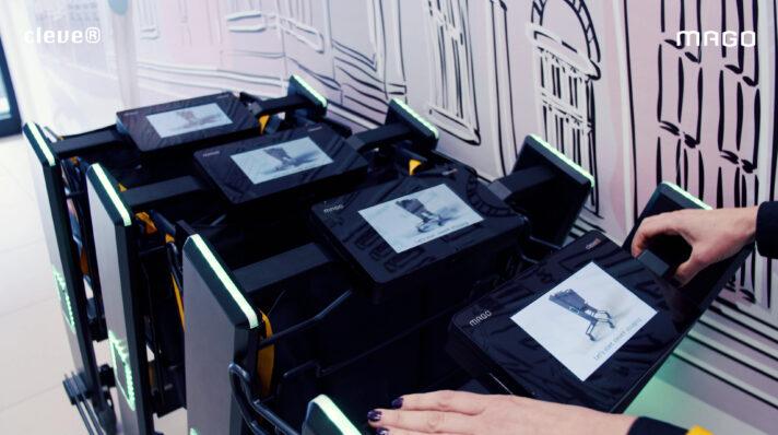 LE CHARIOT INTELLIGENT DE LA SOCIÉTÉ MAGO COMME RÉPONSE AUX BESOINS DU COMMERCE ACTUEL